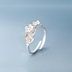 Peach blossom Flower Ring
