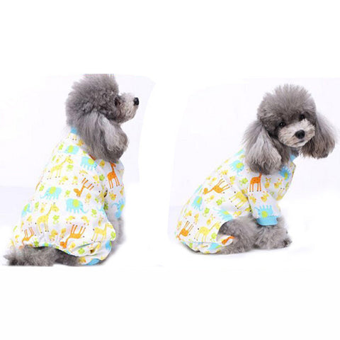 Pet dog clothes warm dog coat jumpsuit Costume