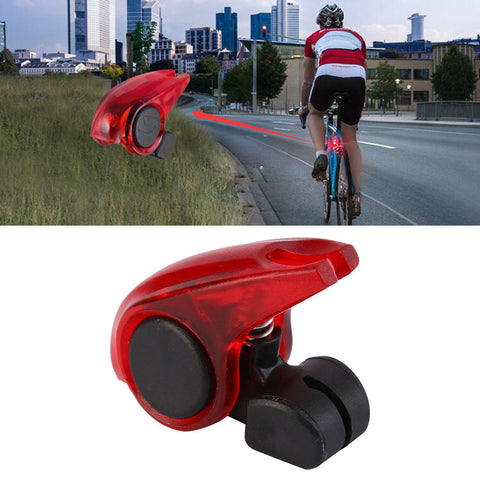 Waterproof  Portable Mini Brake Bike Light Mount Tail Rear Bicycle LED Tail Lights Safety Warning