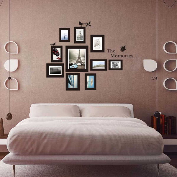 3DWall Stickers Removable Photo Frame Mural Home Decoration Wall Stickers
