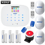 Intelligent Wireless GMS, SMS, CALL, Burglar  Alarm System