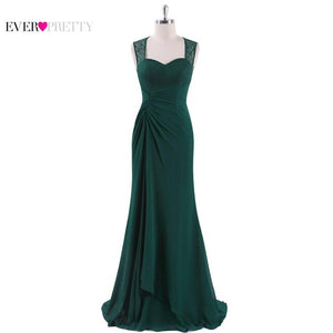 Prom Dresses New Sexy Navy Blue Sleeveless Long Prom Party Dress Chiffon