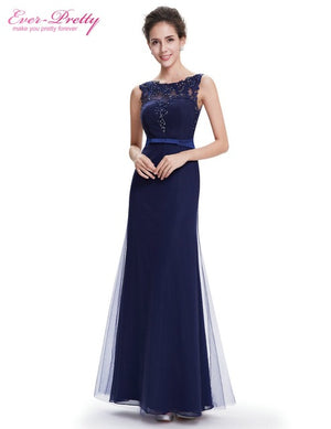 Women Elegant Sleeveless Long Evening Formal Party Dresses