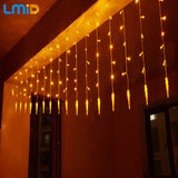 Holiday Lighting 4x0.6M Icicle Colorful Fairy Xmas LED Lights