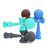 Hottest Wooden Sport  Kendama Outdoor Toy Balls Two Colors Crack Beech Wood Kids & Adult