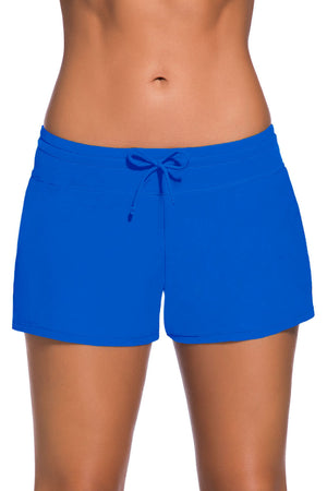 Royal Blue Women Swim Boardshort