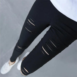 Fitness Leggings For Women Sexy Hole Legging