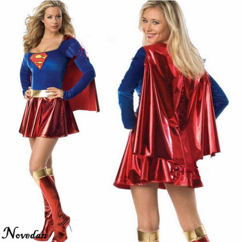 Sexy Superhero Costume  For Women Adult