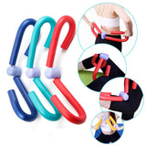 1PC Thigh Exercisers Gym Sports Thigh Master Leg Arm Muscle Fitness Workout Exercise Machine Fitness Equipment Gear