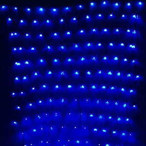 Garden decoration light 2Mx3M led net mesh lights AC110V or AC220V 204leds led string lights oudtoor decoration holiday lighting