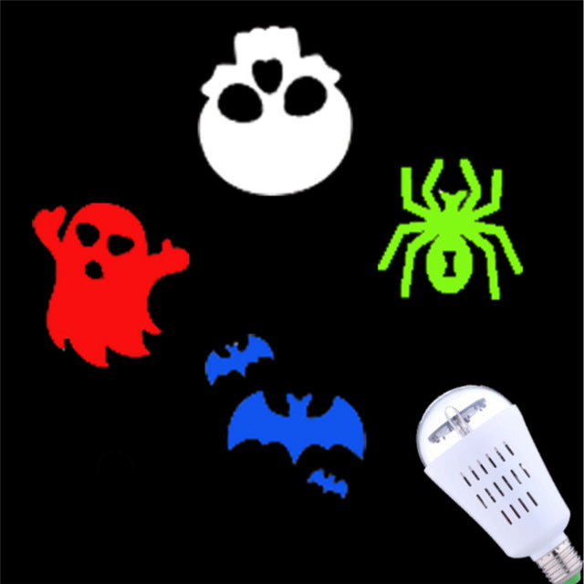 Novelty! Indoor Laser Projector Lamps LED Stage Light Mini Projector