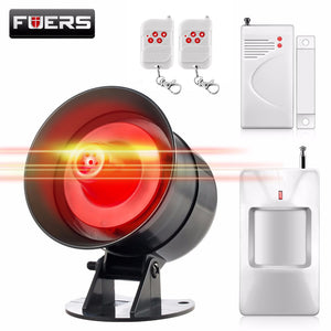 Siren Flash  Burglar Security Alarm