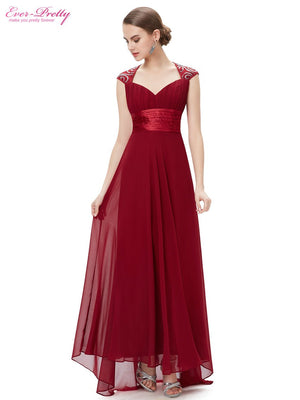 V Neck Sequins Chiffon Mother of the Groom Dresses