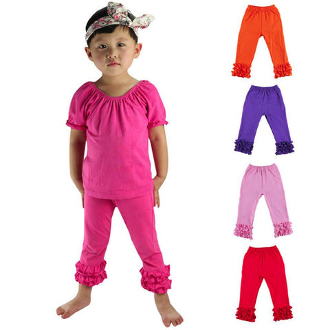 Kids Leggings Girl Pants Lcings Persnickety Toddler Ruffle Pants Leggings For Girls