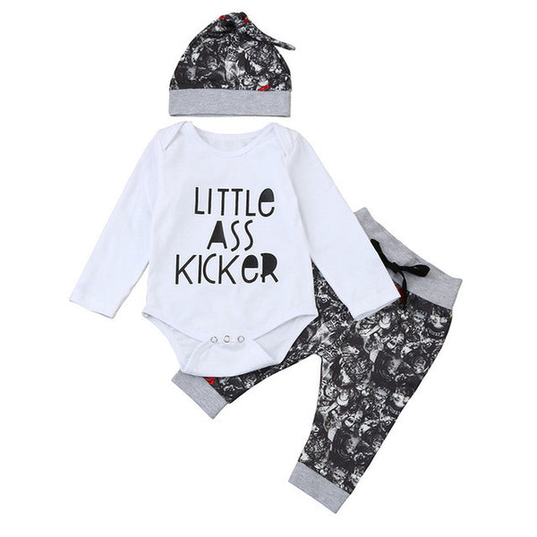 3PCS Baby Boys/ Girls Clothing Sets