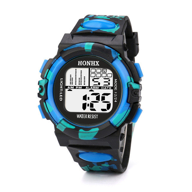 Multifunction Waterproof Child/Boy's/Girl's Sports Electronic Sport Watch
