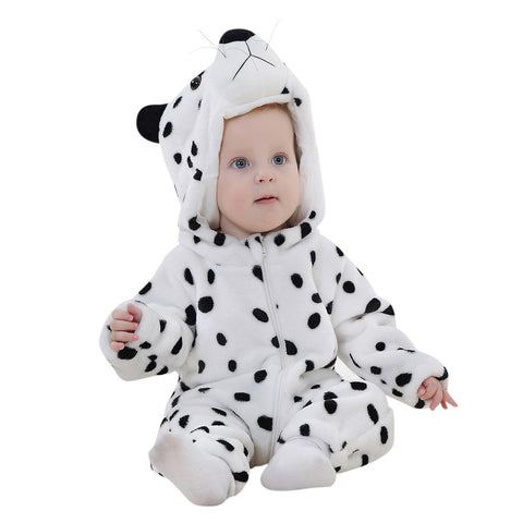 Toddler/Newborn/Baby Boys,Girls Animal Cartoon Hooded Rompers