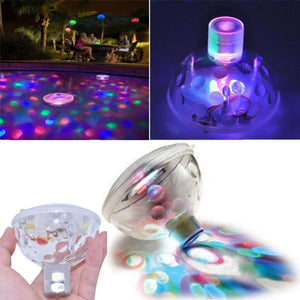 Outdoor Underwater RGB LED Disco Light Glow Show Swimming Pool Hot Tub Spa Lamp