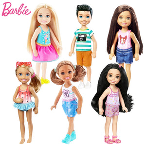1 Pcs Mini Dolls Barbie Original Model Fashion Dolls For Girls