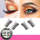 4pcs Double Magnetic Eyelashes Magnetic Lashes Magnetic False Eyelashes
