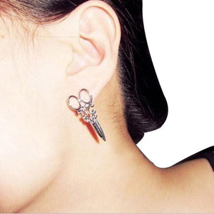 1Pair Fashion Unique Punk Women Girls Ear Stud Earring Jewelry