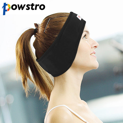 Sport Sweatband Stereo Earphones Lining and Thin Speakers Wired Headphones
