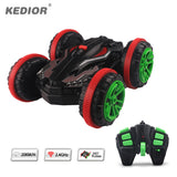 1:18 Stunt RC Car 360 Rotate Remote Control Car Driving on Water and Land Amphibious Electric Toys for Boys Gift