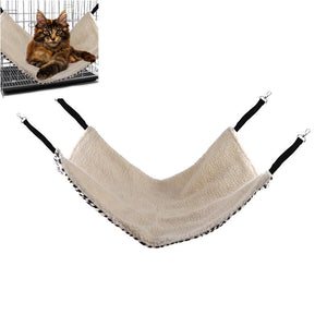 Pet Cat Hammock Hanging Bed Sleep Pad for Hamsters Rabbits 20*15""