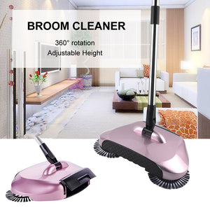 Electricity Dustpans Hard Floor Magic 360 Sweeping Machine For Lazy Cleaner