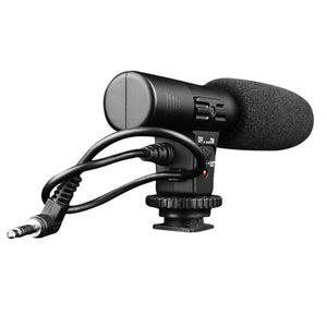 New Professional 3.5mm Microphones Studio Digital Video Stereo Recording For Camera For Canon For Nikon