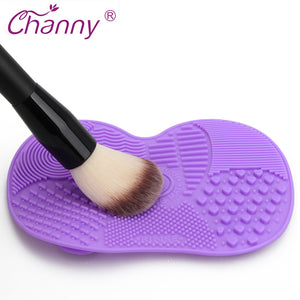 Make up Eyebrow Brushes Cleaning Pad Scrubber Board Makeup Cleaner