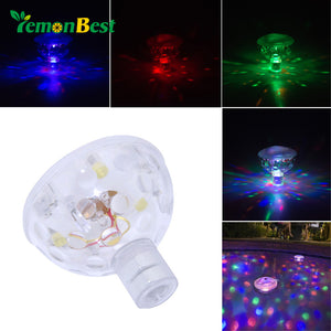 underwater led Float Water Light Night Light Waterproof Swimming Pool Decoration Lamp