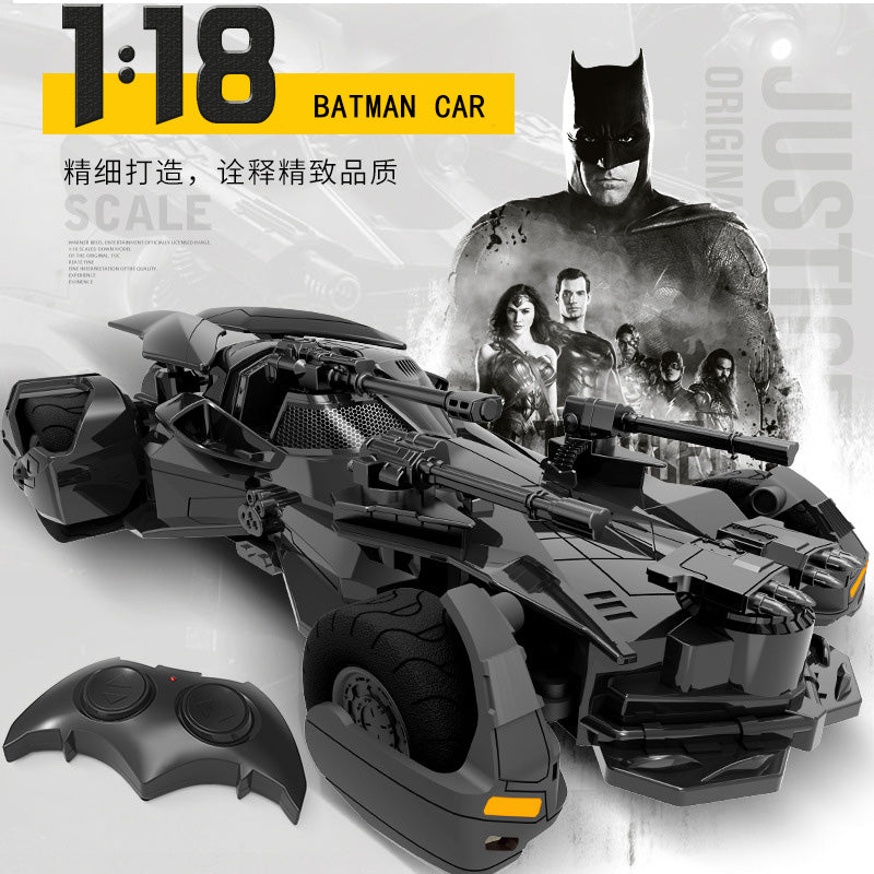 1:18 RC 2.4G Batman Car Kids Christmas Toy Rechargeable Remote Control Car Justice League