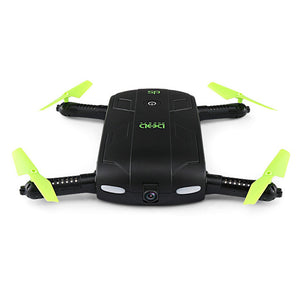 ELFIE WiFi FPV Quadcopters Mini Foldable RC Pocket Drone Dron with Camera G-Sensor Mode Waypoints Indoor Outdoor Quadcopter Toys