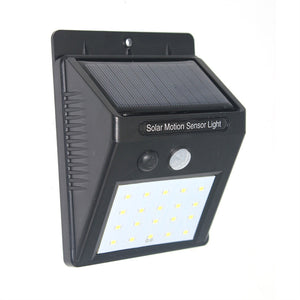 Solar Lights 20 LED Waterproof Wireless Motion Sensor Security Wall Light for Outdoor Patio Deck Yard Garden Fence Driveaway