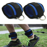 1/2PC AnkleD-ring Anchor Strap Belt Multi Gym Thigh Leg Pulley