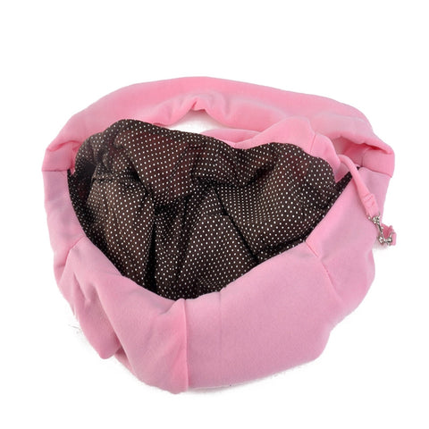 Hands-free Small Dog Cat Sling Carrier Bag Travel Pets Tote Shoulder Bag