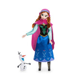 1pcs Genuine Disney 8Style 30CM Rapunzel Belle Mulan Merida Anna Elsa Multi Jasmine joint princess doll Girl gift For Kids