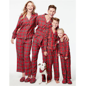 2018 New Year's Costumes For Familys Christmas Pajama Family Matching Outfit Dad Mom Kids Baby Xmas Pyjamas Family Look Clothing