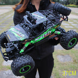 37CM 1/12 4WD Big RC Cars 2.4G High Speed Off-Road Trucks Upgraded Buggy Vehicle Toys Children Kids Boys Birthday Christmas Gift