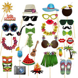 18 Pieces Photo Booth Props Kids Happy Birthday Party Decorations Supplies