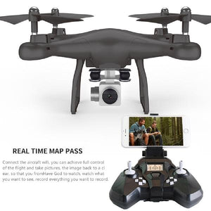 LeadingStar S10 2.4G 4-AXIS remote control quadcopter drone with HD camera rc dron cam FPV wifi professional helicopter easy