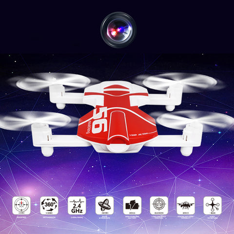 RC Helicopters For Radio Control Flashing Dron Remote Control Drones With Camera Hd FPV Quadcopter Foldable Pocket Drone No24b