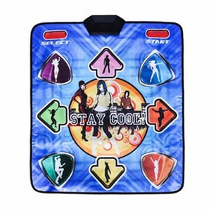 Non-Slip Dancing Blanket Yoga Fitness Dance Machine Single Wired Dance Mat for PC US Plug