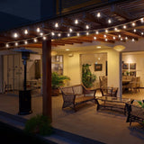1x Indoor/Outdoor Lights g40 globe string lights for Porch/Tents/Party Decor/Cafe/Gazebo