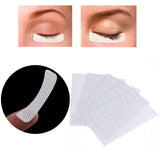 100pcs Magnetic Eyelash White Eye Eyelashes Extension Fabric Pads Stickers Patches
