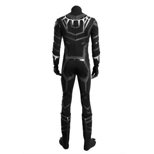 Black Panther y Costume Jumpsuits Halloween Black