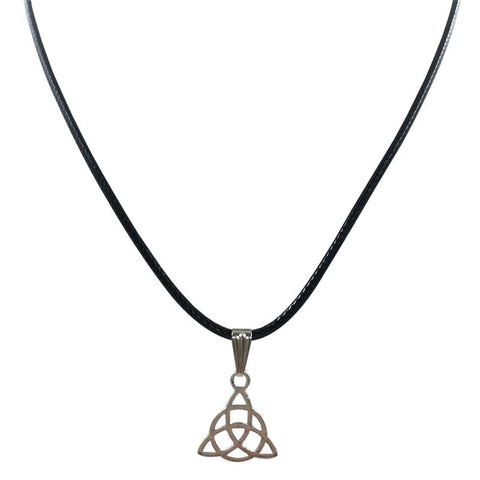 Serenity Retro Peace Necklace Pendant Black Leather Cord Choker Charm