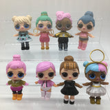 8PCS/LOT LOL Baby  Action Figures Toy Doll