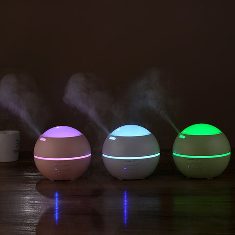 Ultrasonic Aromatherapy with flower Aroma Diffusers